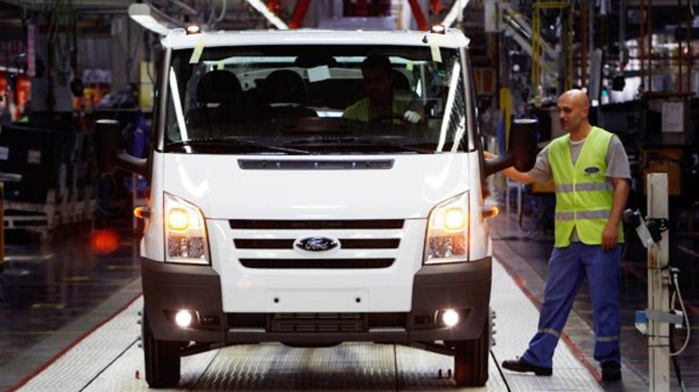 Stark: Autoproduktion, hier bei Ford in Bursa. (Foto: Reuters)