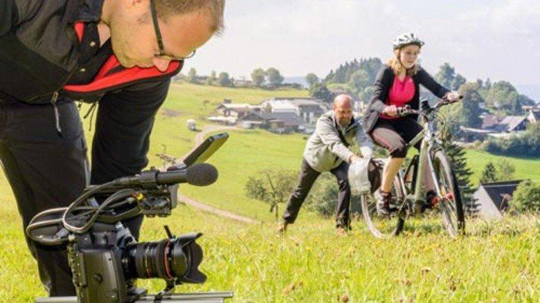 Und Action! Für den Kurzfilm wurden Studenten zu Schauspielern. Foto: FH Südwestfalen