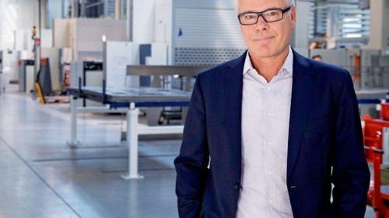 Firmenchef mit Herzblut: Jürgen Knoll ist gerne Unternehmer, auch wenn es manchmal schwierig ist. Foto: Eppler