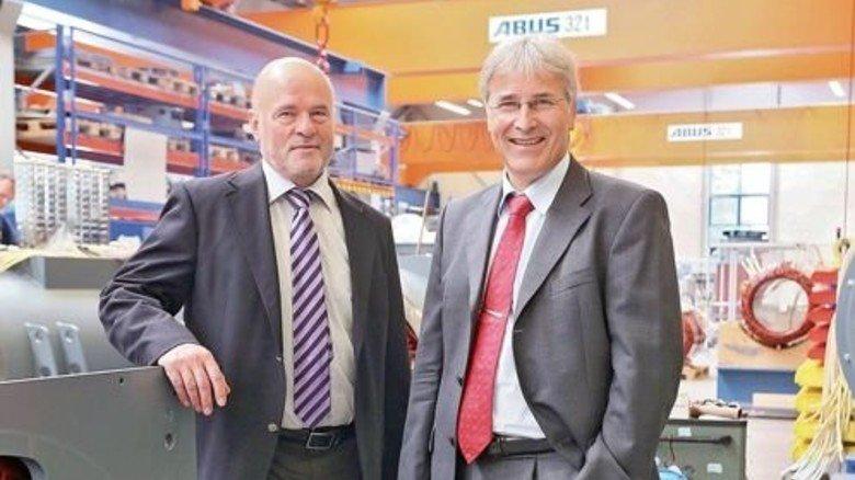 Ein langer Prozess: Bernd Becker (links) und Detlev Seidel rechnen mit 15 Jahren. Foto: Gossmann
