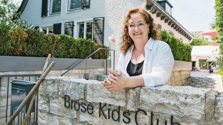Topmotiviert: Dorothea Schaufler, Leiterin des Brose Kids Clubs. Foto: Roth