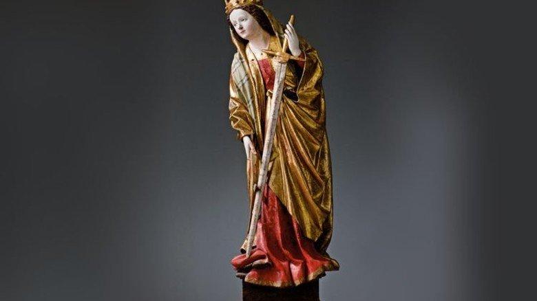 Kreuzform: Das Schwert der Heiligen Katharina von Alexandrien. Foto: Veranstalter