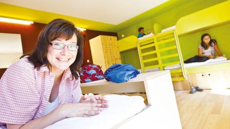 Jugendherberge Berchtesgaden: In dem stylischen Alpenhaus finden viele Familien ein Zuhause auf Zeit. Foto: DJH Landesverband Bayern