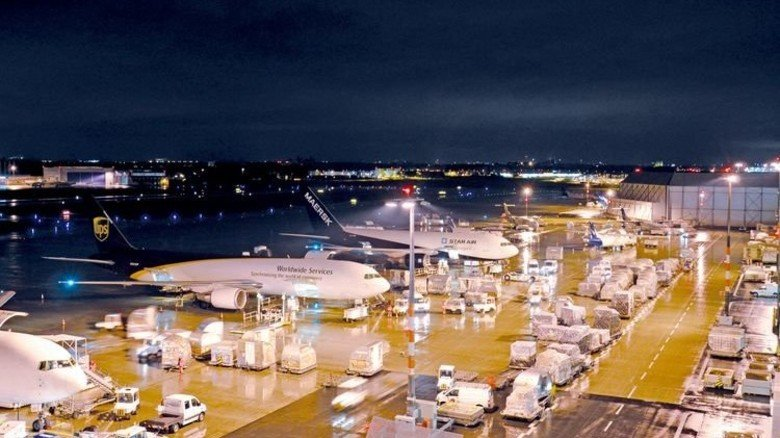 Frachtzentrum des Flughafens Köln-Bonn: Eine wichtige Drehscheibe im globalen Güteraustausch. Foto: Flughafen Köln-Bonn