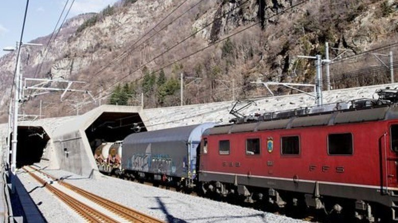 Offensive: Die Schweizer haben den Gotthard-Tunnel eröffnet – für mehr Transporte. Foto: SBB
