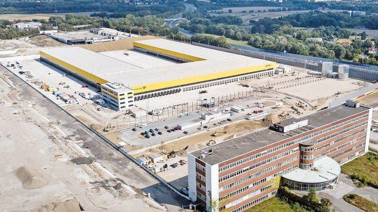 Das frühere Opel-Gelände: DHL hat sich schon angesiedelt – andere Firmen wie etwa eine Bosch-Tochter folgen. Foto: Funke