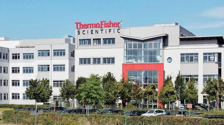 Die Produktionsstätte von Thermo Fisher Scientific in Bremen.