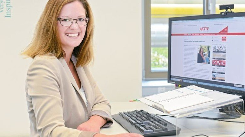 Julika Hommrich: Bürokauffrau bei Boehringer Ingelheim in Biberach. Foto: Werk