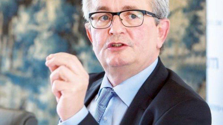 """Wirbt für einen """"Pakt der Vernunft"""": Bertram Brossardt, Hauptgeschäftsführer des Arbeitgeberverbands vbm. Foto: Schulz"""