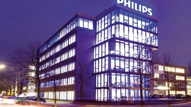 Neubau im Norden: Das Gebäude dient als Firmen-Zentrale für Deutschland, Österreich und die Schweiz. Foto: Philips/Frank von Wieding