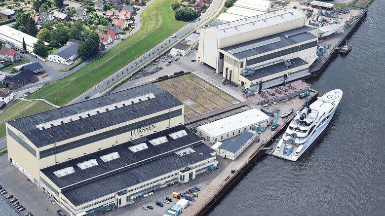 Erfolgreicher Schiffsbauer: Die Lürssen-Gruppe hat ihre Zentrale (s. Bild) in Bremen.