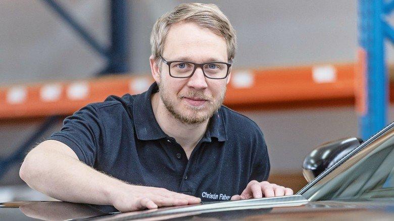 Durchgestartet: Christian Faber arbeitet bereits als Industriemeister mit Führungsverantwortung – nur viereinhalb Jahre nach seinem Ausbildungsbeginn.