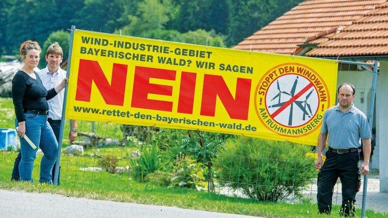 Bürgerprotest: Eine kleine Minderheit wehrt sich gegen Windräder in der Umgebung, 90 Prozent der Deutschen aber befürworten den Ausbau.