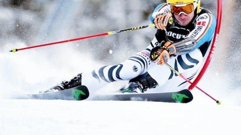 Hellwach: Felix Neureuther bei der Ski-WM 2015 in den USA. Foto: dpa