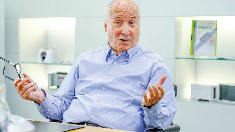 Horst-Werner Maier-Hunke, Vorsitzender des Märkischen Arbeitgeberverbands, erwartet wichtige politische Weichenstellungen von der neuen Bundesregierung.