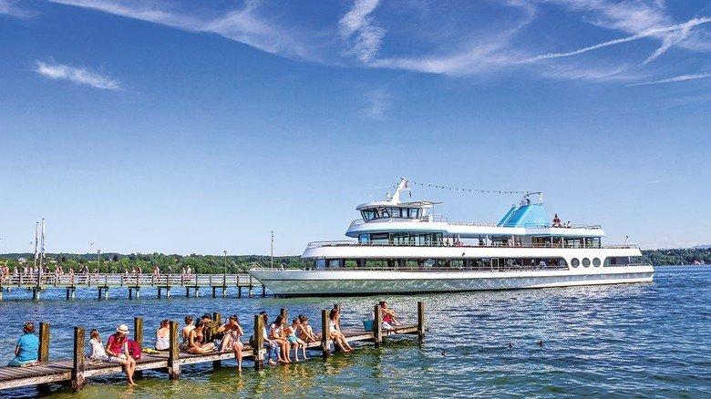 Erholsam: Der Starnberger See vor den Toren Münchens ist nicht nur für Großstädter ein Freizeitparadies.