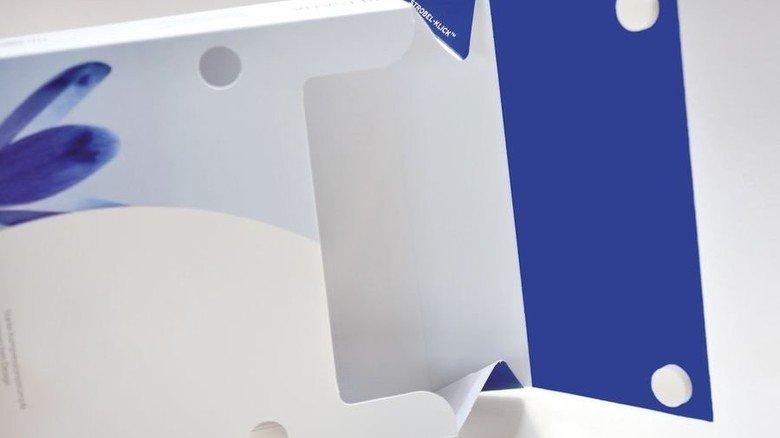 Innovativ: Eine sanft wiederverschließbare Verpackung für empfindliche Strümpfe. Foto: Scheffler