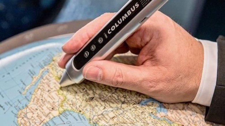 Innovationen: Mit dem internetfähigen Globus … Foto: Roth