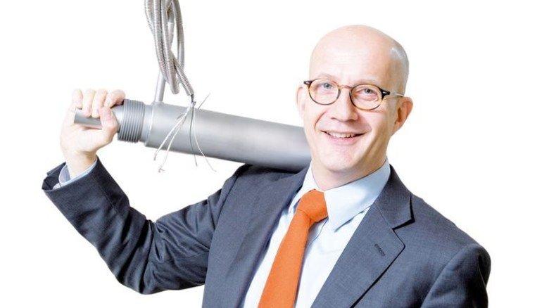 """""""Der Schritt in die Internationalisierung hat bei uns alle Arbeitsplätze gesichert."""" Ralf Schwarzkopf, Geschäftsführer. Foto: Moll"""