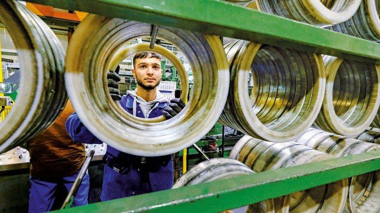 Metaller mit Power: Zum Netzwerk gehört auch die Firma Mendritzk.