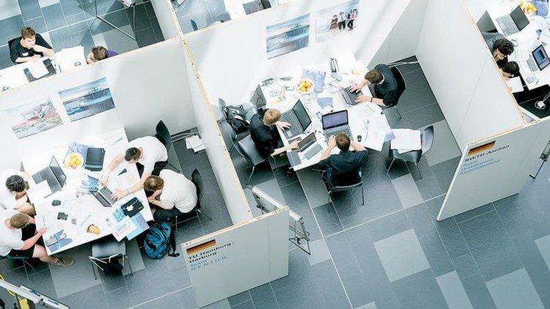 Teamarbeit: Ein Blick auf die Endrunde des Wettbewerbs. Foto: Werk