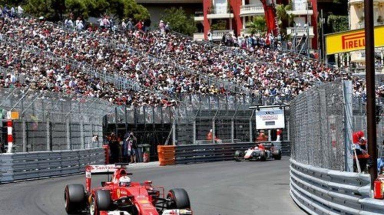 Große Erwartung: Der vierfache Formel-1-Weltmeister Sebastian Vettel im Ferrari. Foto: dpa