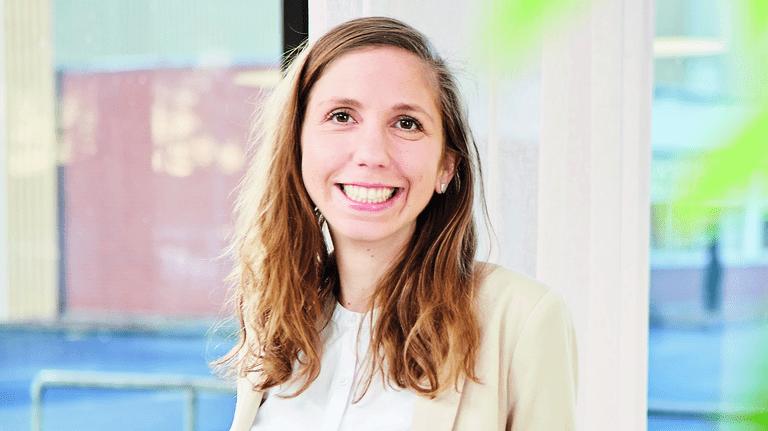 Jessica Burwin hatte die Idee mit den Workshops: Der Gedanke der Nachhaltigkeit soll sich so im Unternehmen verankern – mithilfe der Nachhaltigkeitsbotschafter.