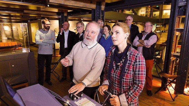 Großer Andrang: Besucher im Internationalen Maritimen Museum in der Hamburger Speicherstadt. Foto: Madis Luik