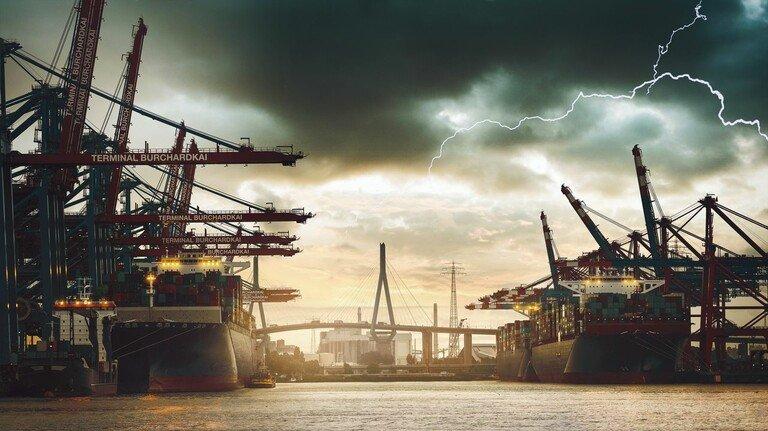 Krisen-Verlierer: Vor allem die Betriebe im Schiff- und Flugzeugbau leiden unter den Folgen der Pandemie.
