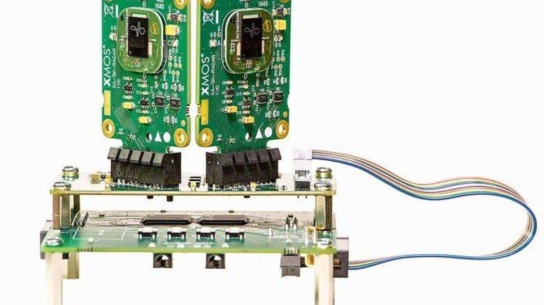 Infineon: Radarsensoren und Mikrofone helfen, das Stimmengewirr zu unterscheiden, und lassen sich durch laute Geräusche nicht stören. Foto: Werk