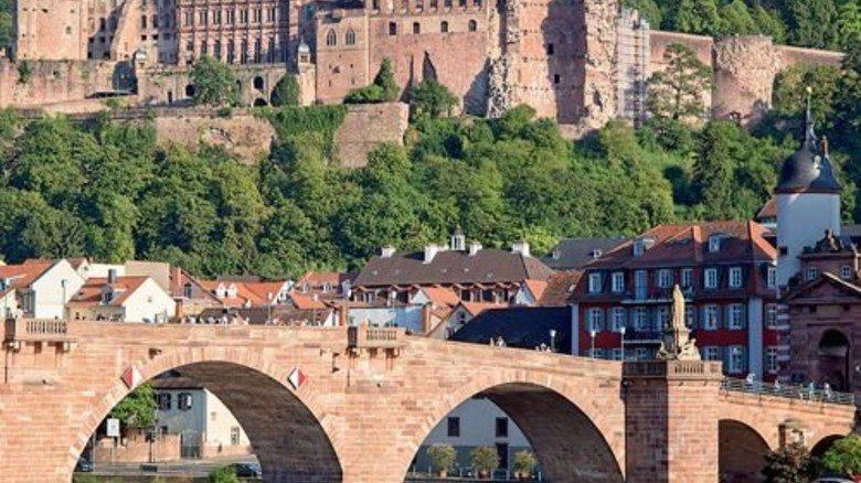 Standort Heidelberg: Das Schloss ist das Wahrzeichen der Stadt. Foto: Fotolia