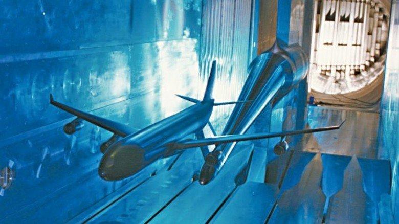 Windkanal ETW: Er ist der modernste weltweit. Foto: ETW