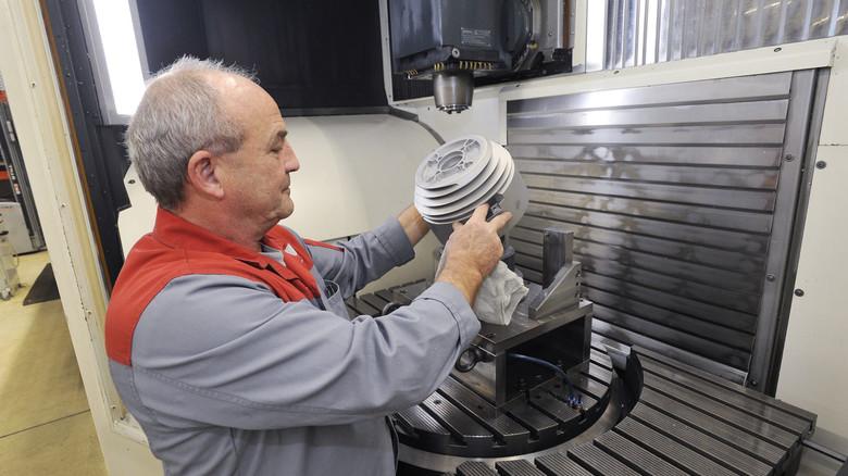 Bei Carl Stahl Kromer in Gottenheim arbeiten 33 Leute.
