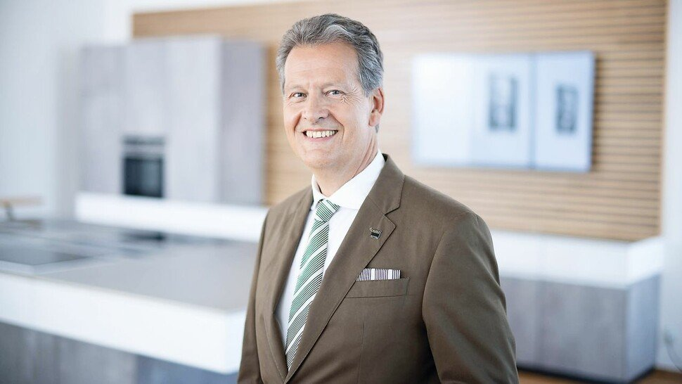 Dr. Johannes Haupt, CEO der Blanc & Fischer Familienholding, Oberderdingen.