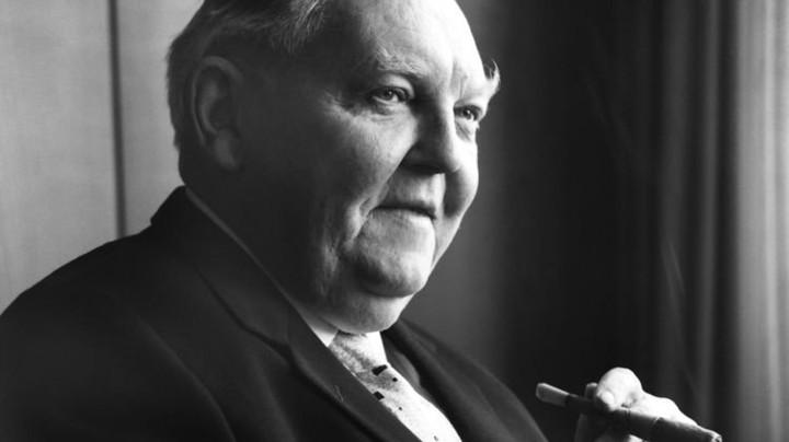 Der Mann mit der Zigarre: Ludwig Erhard (1897 bis 1977). Foto: dpa