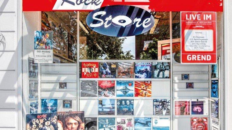 Inzwischen Kult: Das Essener Geschäft gibt es seit 1976. Foto: Roth