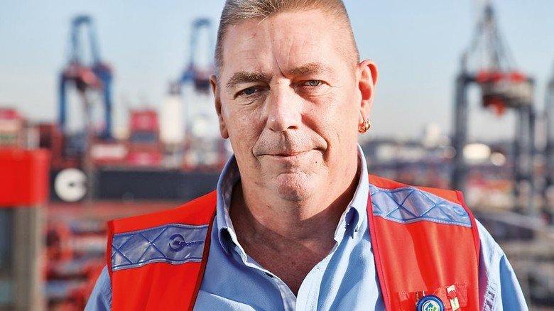Holger Kühnel (56), Hafenfacharbeiter aus Hamburg. Foto: GuS Kommunikation