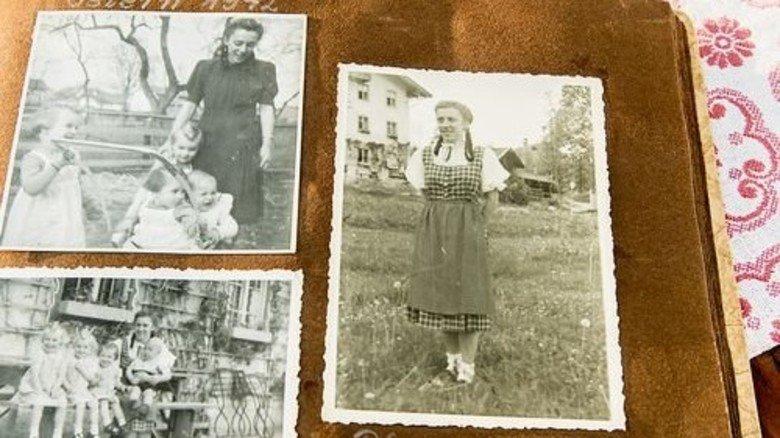Die ersten Jahre: Kathi Kink als Kindermädchen 1942. Foto: Roth