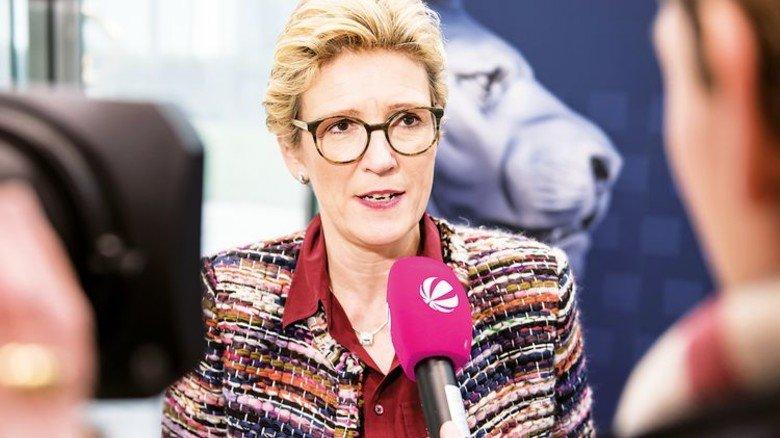 Angelique Renkhoff-Mücke: Sie leitet den Sonnenschutzhersteller Warema – und aktuell für den vbm die Tarifverhandlungen. Foto: vbm