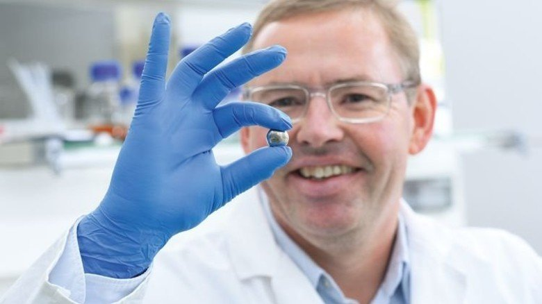 Wertvoller Rohstoff: Paladium wird bei der Herstellung von Handys und Computern gebraucht. Foto: Wirtz