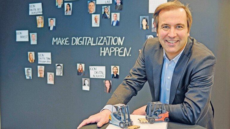Kion-Digital-Chef Maik Manthey: Die Digitalisierung eröffnet unendliche Möglichkeiten.