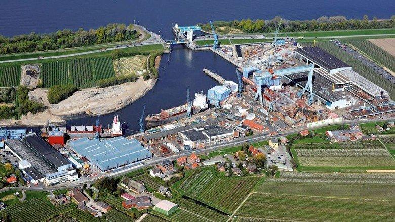 Traditionsbetrieb: Die Pella Sietas Werft im Süden von Hamburg wurde im Jahr 1635 gegründet. Foto: Michael Zapf