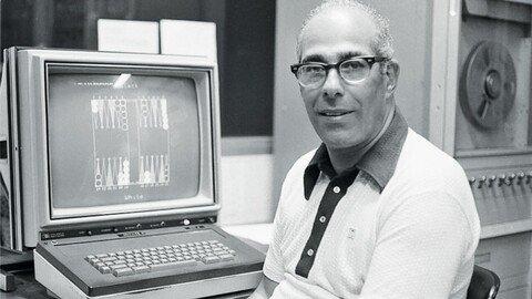 """1979: Das Programm """"BKG 9.8"""" von KI-Professor Hans Berliner ist besser als Weltmeister Luigi Villa im Backgammon."""