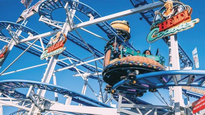 """Wiesn-Gaudi: Die Oktoberfest- Attraktion """"Heidi the Coaster"""" wurde ebenfalls von den HAB-Experten gebaut."""