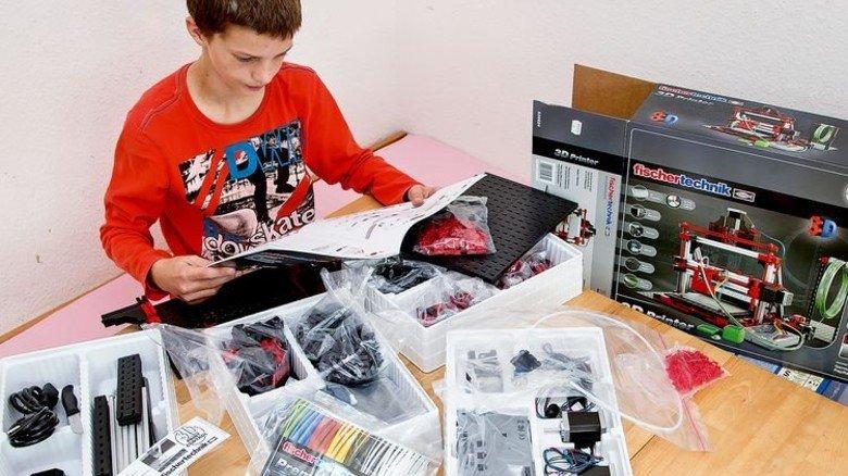 Herausforderung: 890 Teile müssen verbaut werden. Foto: Mierendorf