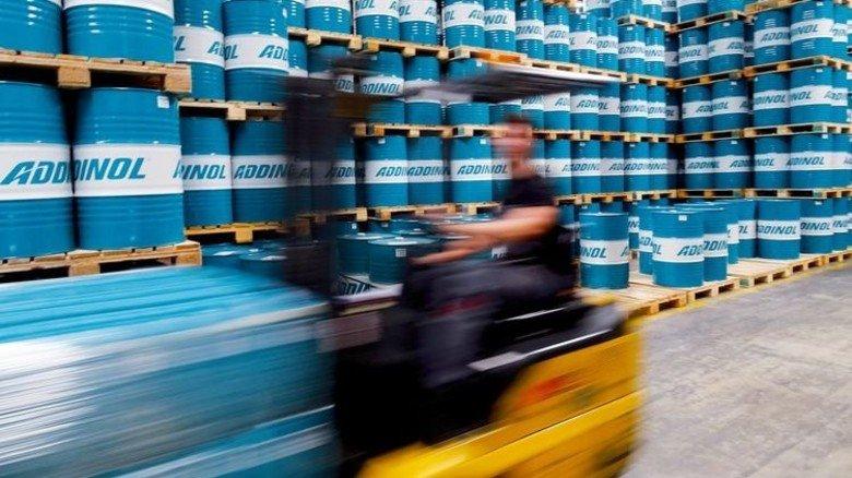 Bei Addinol: Von hier aus gelangen die Produkte zu den Kunden. Foto: Werk