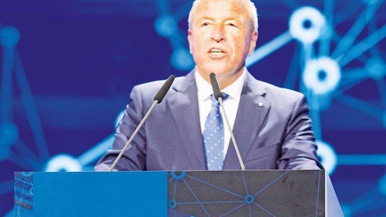 Will Bayern an der Spitze halten: vbw-Präsident Alfred Gaffal. Foto: Bodmer