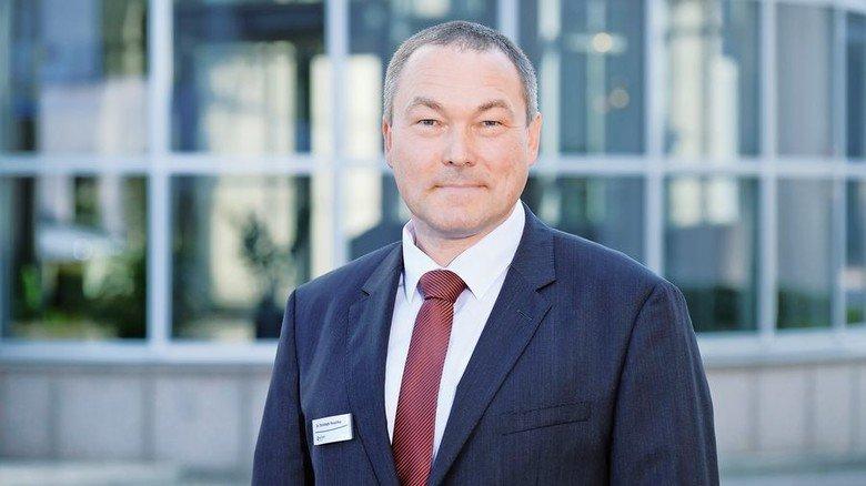 Viel Energie: Projektleiter Christoph Huschka setzt auf Teamarbeit. Foto: Deutsch