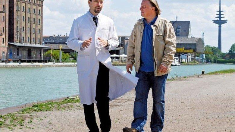 """""""Tatort""""-Figuren Boerne (links) und Thiel, … Foto: Veranstalter"""
