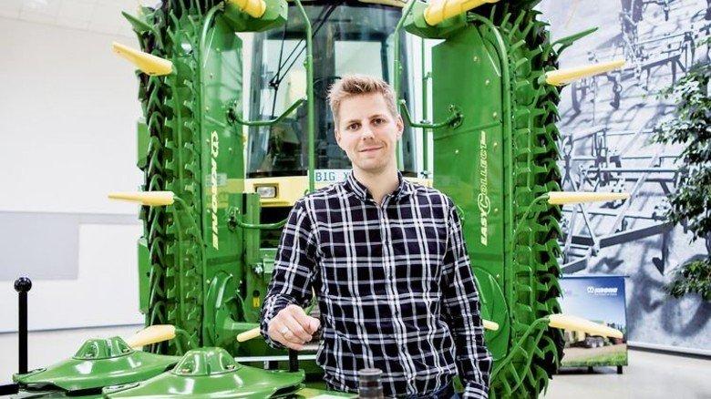 Gelungene Personalentwicklung: André Meyer hat 2010 als Trainee begonnen und ist heute Segmentleiter. Foto: Lorenczat
